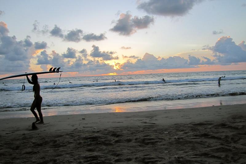 Sunset @ Mesari Beach Seminyak
