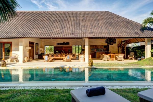 Pool Area By One Of Abaca Villas