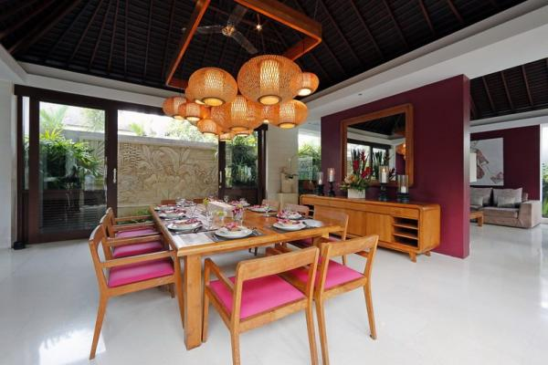 Family Dining Area For 8 Persons