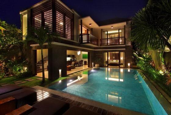 Three Bedroom Villa Evening 2