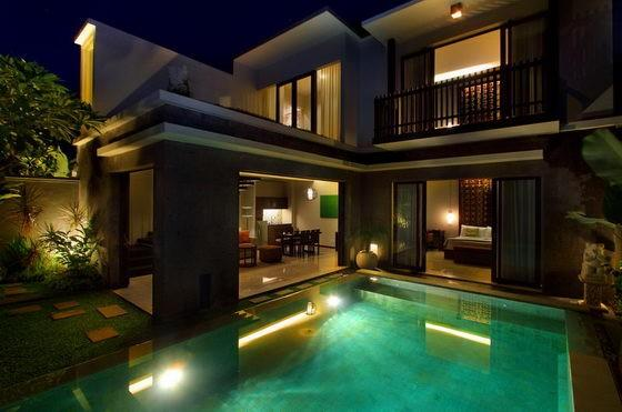 Two Bedroom Villa Evening