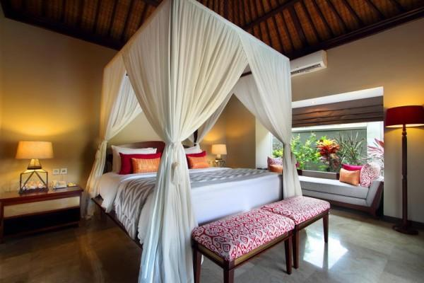 Two Bedroom Pool Villa Bedroom King Bed