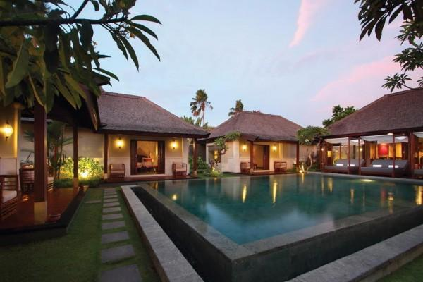 Three Bedroom Pool Villa Evening