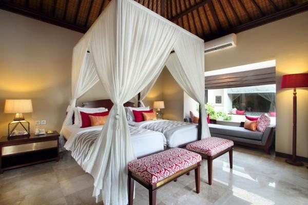 Two Bedroom Pool Villa Bedroom Twin Bed