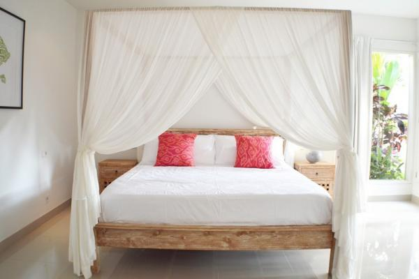 Canopied King Size Bed